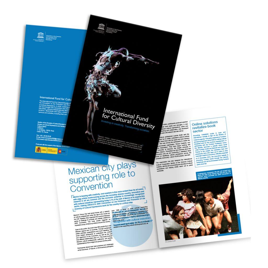 Promoting culture and diversity UNESCO-maquetacion-revistas